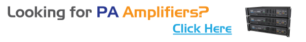 Looking for PA Amplifiers?