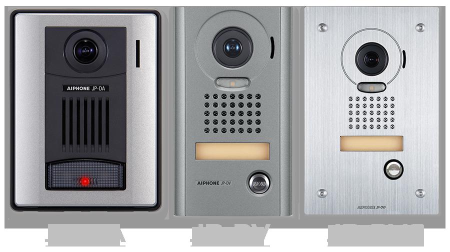 Aiphone Jp S4aed Series Front Door Video Intercom Kit