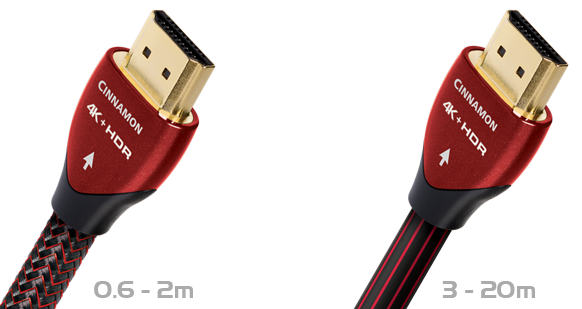 AudioQuest Cinnamon 4K UHD HDR HDMI 2.0 Lead