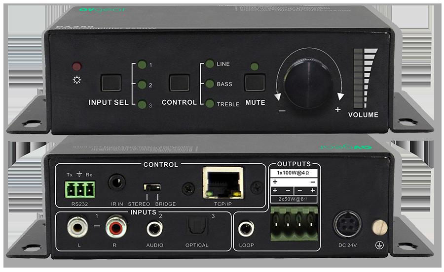 AVGear AVG-MA2 100W Class D Mini Audio Digital Amplifier