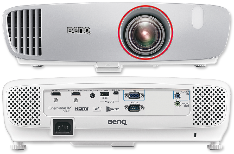 BenQ W1210ST Full HD 2200 Lumen Video Gaming DLP Home ProjectorBenQ W1210ST Full HD 2200 Lumen Video Gaming DLP Home Projector