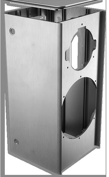 Dali Kubik aluminium cabinet