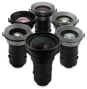 Epson G series 6 optional lenses