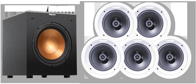 pro speakers klipsch ceiling in