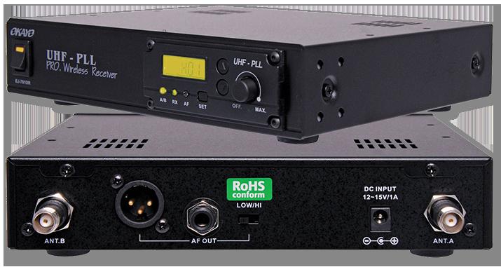 Okayo 96 channel UHF Wireless Audio Link Receiver