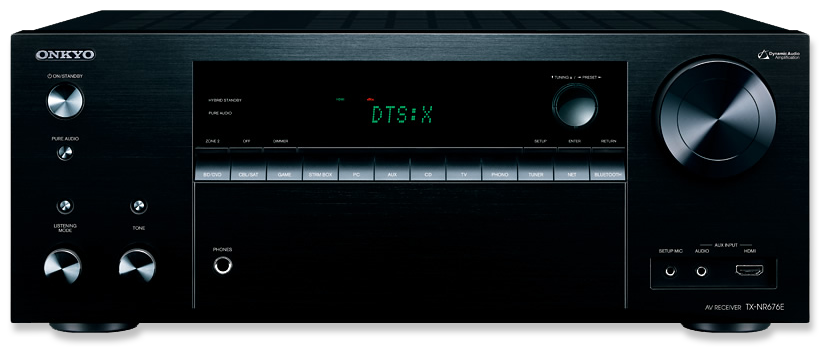 Onkyo TX-NR676E 7.2-Channel DTS:X & Dolby Atmos Ready Network A/V Receiver