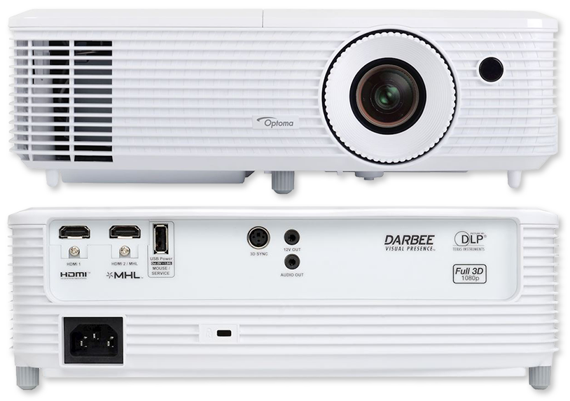 Optoma HD29Darbee 3200 Lumens Full HD Home Entertainment DLP Projector