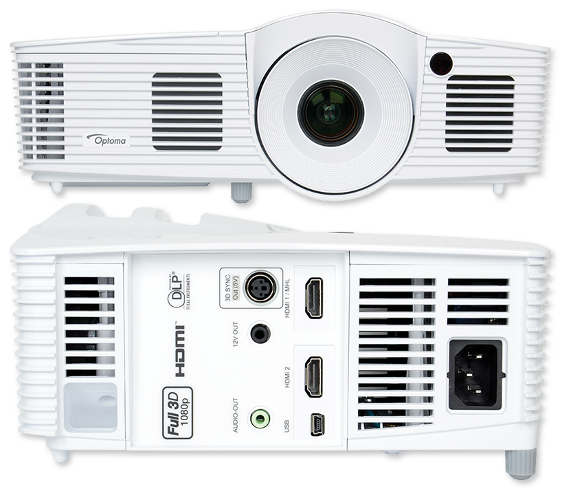 Optoma HD39Darbee 3500 Lumens Full HD 3D Home Entertainment DLP Projector