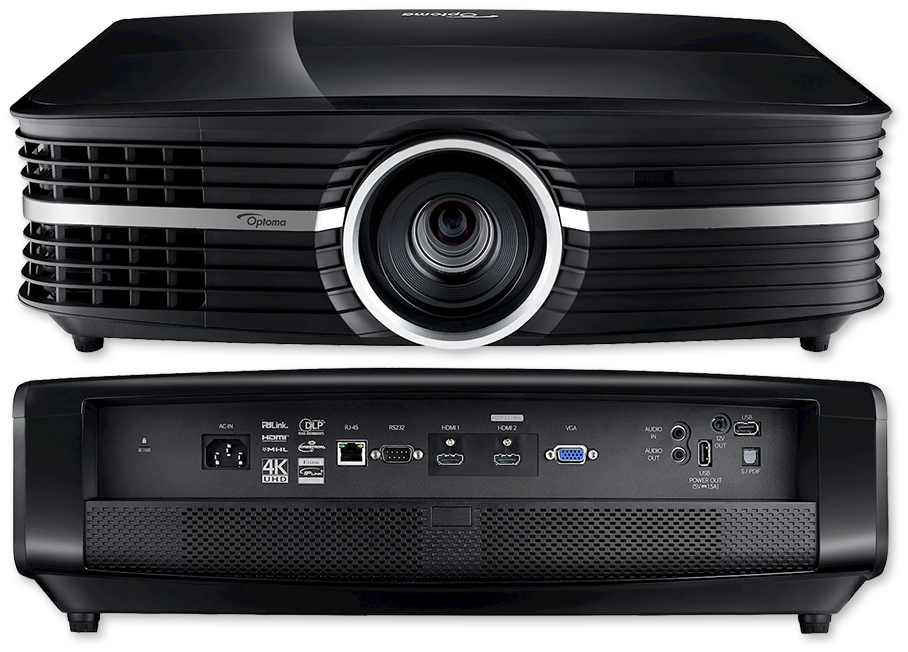 Optoma UHD65 2200 Lumen 4K UHD HDR DLP Projector