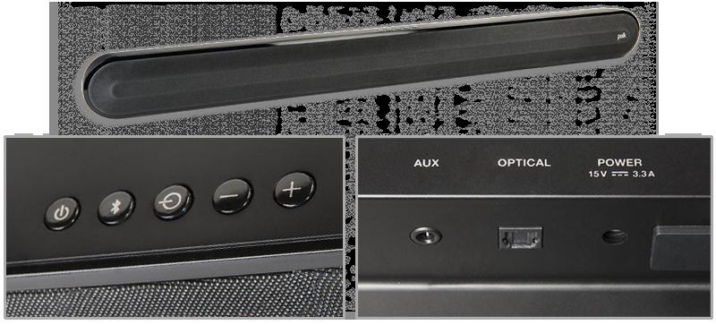 polk audio signa solo universal home theatre soundbar av australia online. Black Bedroom Furniture Sets. Home Design Ideas