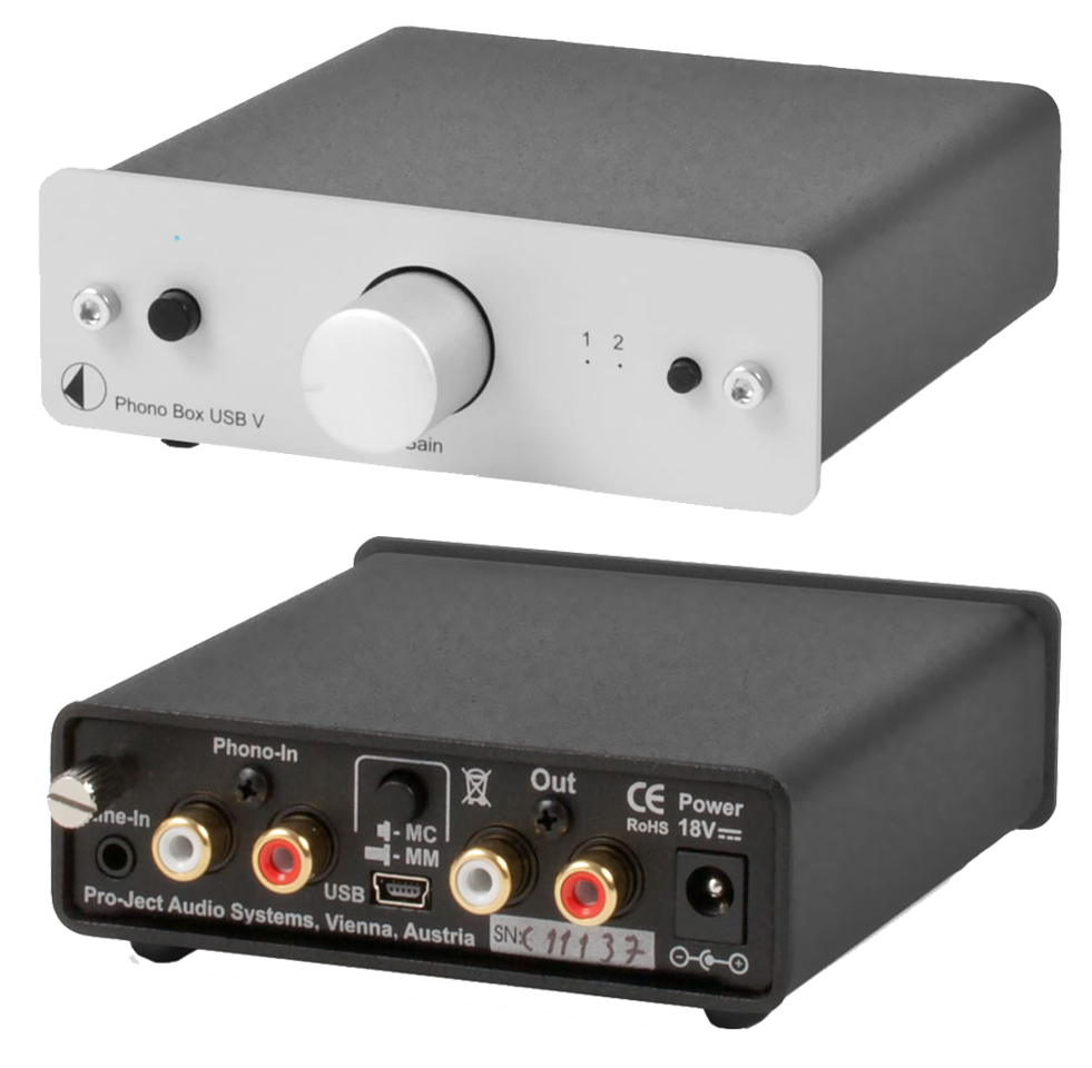 pro ject phono box usb variable mm mc phono preamp with line output av australia online. Black Bedroom Furniture Sets. Home Design Ideas