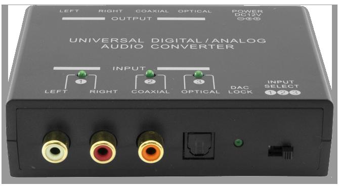 Pro.2 Universal Digital Analog Audio Converter Dual Way