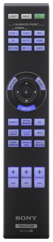 Sony vpl-hw45es remote-control