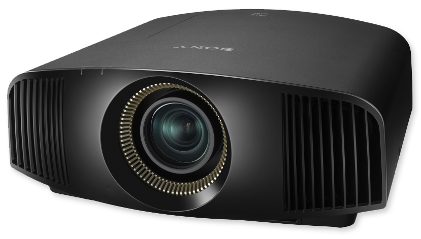 Sony VW520ES 4K 3D 1800 Lumens SXRD Home Cinema Projector - front view