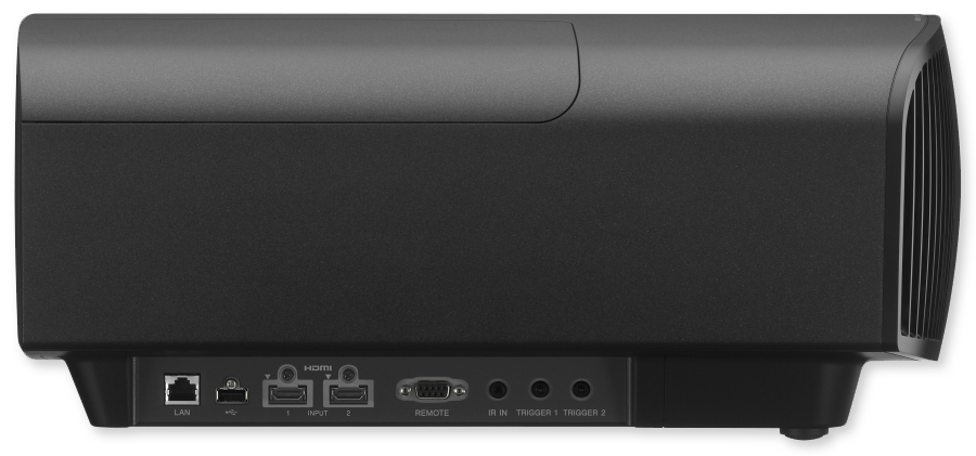 Sony VW520ES 4K 3D 1800 Lumens SXRD Home Cinema Projector - side view