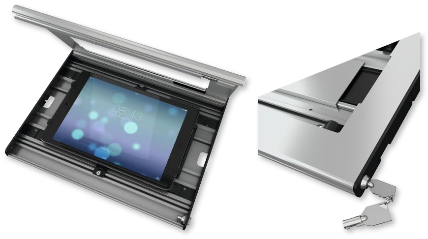 "Vogels PTS2010 9""-10"" Universal Secure Tablet Enclosure"