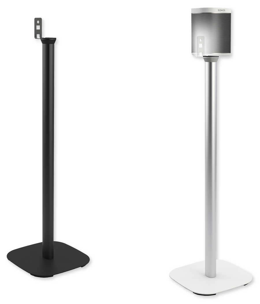 vogels sound 4301 floor stand for sonos play 1 each av australia online. Black Bedroom Furniture Sets. Home Design Ideas